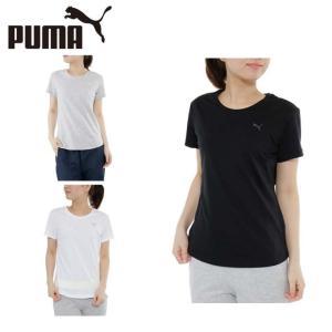 プーマ PUMA Tシャツ 半袖 レディース ワンポイントTシャツ 593205