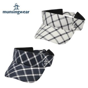 マンシング Munsingwear ゴルフ メンズ チェックバイザー JAMJ354|himaraya