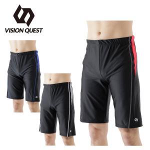 ビジョンクエスト VISION QUEST フィットネス水着 メンズ ルーズスパッツ インナー付き VQ470203G02 スイムウェア 水着