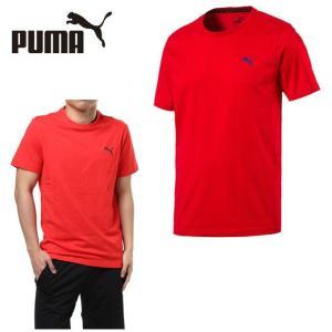 プーマ スポーツウェア メンズ 半袖 ワンポイント機能Tシャツ 593028 PUMA