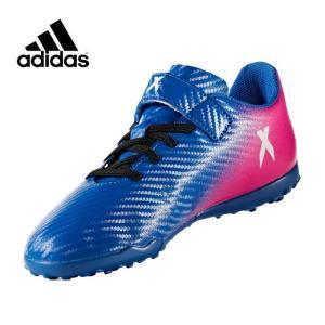 アディダス adidas サッカー トレーニングシューズ ジュニア エックス 16.4 TF J ベルクロ CDF27 BY2943|himaraya