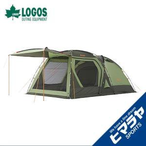 ロゴス LOGOS テント 大型テント 4人がゆったりPANELスクリーンドゥーブルXLチャレンジセット 71809540|himaraya