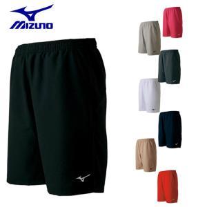 ミズノ テニスウェア ハーフパンツ メンズ レディース ゲームパンツ 62JB7001 MIZUNO バドミントンウェア