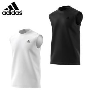 アディダス 機能ウェア メンズ D2M トレーニングノースリーブワンポイントTシャツ BUM13 【KPN】 MENS adidas