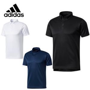 アディダス 機能ウェア メンズ ESSENTIALS ボタンダウン ポロシャツ DJP80 adidas