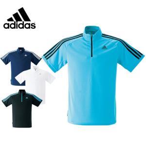 アディダス スポーツウェア 半袖 メンズ ハーフジップ機能シャツ ELW71 【KPN】 MENS adidas