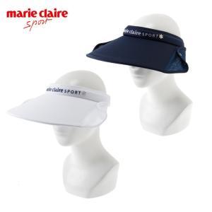 マリクレール marieclaire ゴルフ サンバイザー レディース 2WAYメッシュクリップバイザー 717-904|himaraya