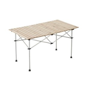 コールマン アウトドアテーブル 大型テーブル ナチュラルウッドロールテーブル/120 2000031291 coleman|himaraya|02
