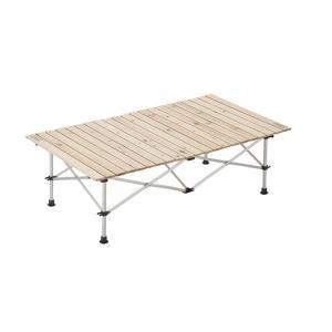 コールマン アウトドアテーブル 大型テーブル ナチュラルウッドロールテーブル/120 2000031291 coleman|himaraya|03