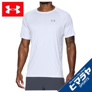 アンダーアーマー Tシャツ メンズ 半袖 ヒートギアランTシャツ ランニング Tシャツ MEN 1289681-100 UNDERARMOUR|himaraya