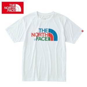 ノースフェイス アウトドア Tシャツ 半袖 メンズ ショートスリーブ カラフル ロゴティー NT31621 THE NORTH FACE