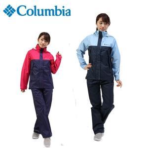 コロンビア レインウェア 上下セット レディース シンプソンサンクチュアリーレインスーツ PL0125 Columbia|himaraya