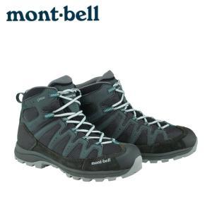 モンベル ( mont bell ) トレッキングシューズ ゴアテックス ミッドカット ラップランドブーツ Men's 1129454 ダークティール|himaraya