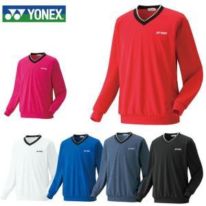 ヨネックス テニスウェア スウェットトレーナー メンズ レディース Vネックスウェット 32019 YONEX バドミントンウェア
