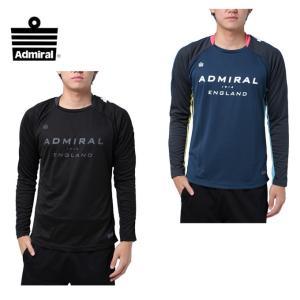 アドミラル Admiral  サッカーウェア メンズ 17FW長袖プラクティスシャツ  AD540404G021F