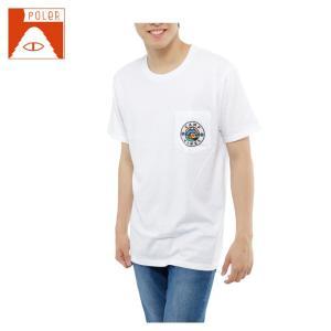 ポーラー POLER  Tシャツ 半袖 メンズ SHORT SV SS-CAMP TEE|himaraya