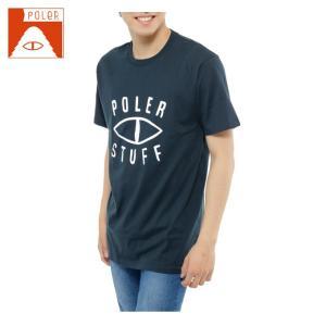 ポーラー POLER  Tシャツ 半袖 メンズ SHORT SV SS-EYE TEE|himaraya