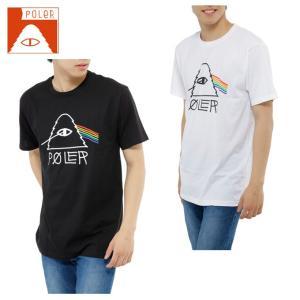 ポーラー POLER  Tシャツ 半袖 メンズ SHORT SV SS-PSYCHEDELIC TEE|himaraya