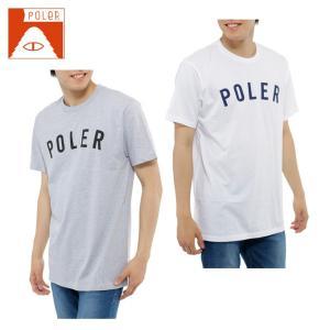 ポーラー POLER  Tシャツ 半袖 メンズ SHORT SV SS-STATE TEE|himaraya