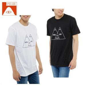 ポーラー POLER  Tシャツ 半袖 メンズ SHORT SV SS-VENN DIAGRAM TEE|himaraya