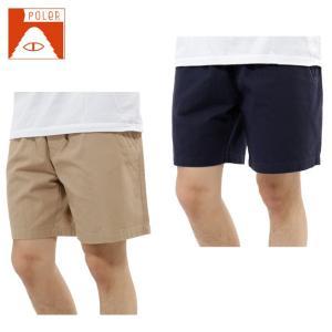 ポーラー POLER  ショートパンツ メンズ SHORT PANT SS-GULLY PULLON SHORT|himaraya