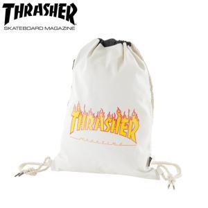 スラッシャー  THRASHER ナップサック ランドリーバッグ THC-100|himaraya