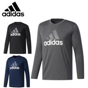 アディダス 機能Tシャツ 長袖 M ESSENTIALS Badge of Sports 長袖Tシャツ DUV78 adidas