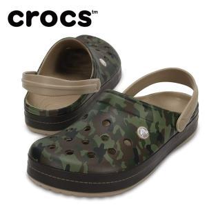 クロックス  crocs  サンダル メンズ  Crocband Camo II Clog クロックバンド カモ 2.0 クロッグ 204091-2G9|himaraya