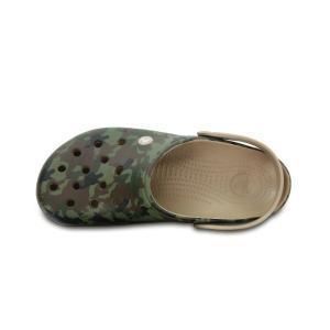 クロックス  crocs  サンダル メンズ  Crocband Camo II Clog クロックバンド カモ 2.0 クロッグ 204091-2G9|himaraya|04