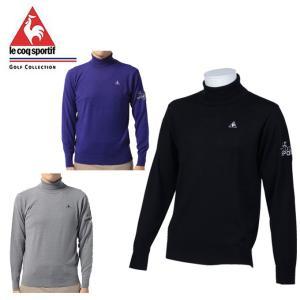 ルコック le coq sportif ゴルフウェア セーター メンズ ハイネックセーター 17FW...