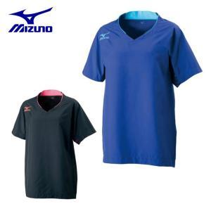 ミズノ MIZUNO バレーボール ピステ 半袖 レディース ブレーカーシャツ V2ME7701|himaraya