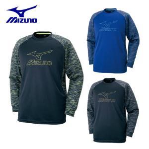 ミズノ MIZUNO バレーボール 長袖Tシャツ メンズ レディース プラクティスシャツ V2MA7590|himaraya