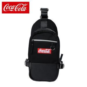 コカ・コーラ Coca-Cola ショルダーバッグ スウェットボディバック COK-BY01-BK|himaraya