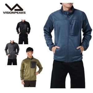 ビジョンピークス VISIONPEAKS フリース メンズ パワーフリース ジャケット VP171102H01|himaraya