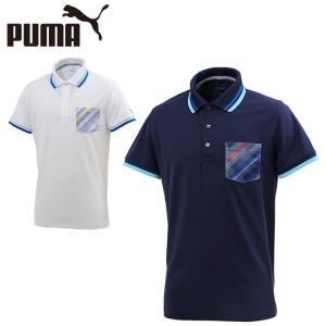 プーマ ゴルフウェア ポロシャツ 半袖 メンズ ピクセルポケット半袖ポロ 574836 PUMA...