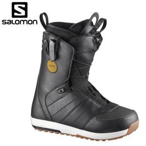 サロモン salomon  スノーボードブーツ ひもタイプ ...