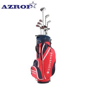 アズロフ AZROF ゴルフ セットクラブ メンズ CONVERSE×AZROF Mセット 2x6+UT+PT+CB AZC-7040 M-SET 2x6+UT+PT+CB|himaraya