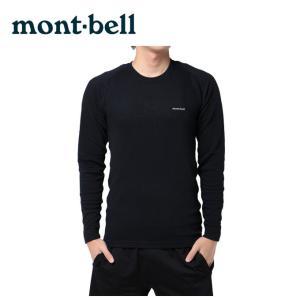 モンベル mont bell  機能インナー 長袖 メンズ ジオライン ミドルウエイト LS T 1107282|himaraya