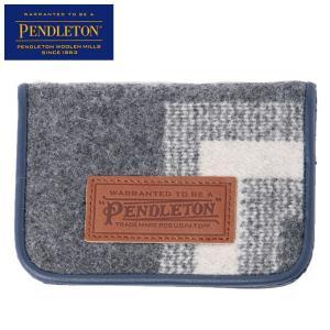 ペンドルトン PENDLETON PDWカードケース PDT-000-173201-GRY|himaraya