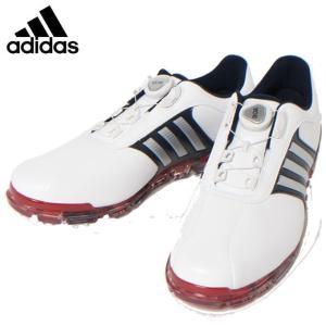 アディダス ゴルフシューズ ソフトスパイク メンズ PURE METAL BOA PLUS ピュアメタル ボア プラス Q44895 adidas|himaraya