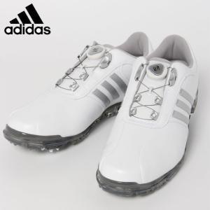 アディダス ゴルフシューズ ソフトスパイク メンズ PURE METAL BOA PLUS ピュアメタル ボア プラス Q44897 adidas|himaraya