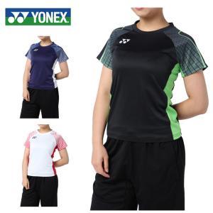 (ヨネックス)YONEX バトミントンウェア フィットシャツ 20388 [レディース] 20388 007 ブラック Mの商品画像|ナビ