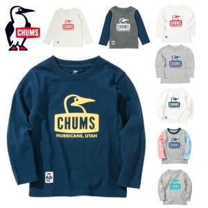 チャムス CHUMS  長袖シャツ ジュニア Booby Face L/S T-shirt ブービーフェイス CH21-1043|himaraya