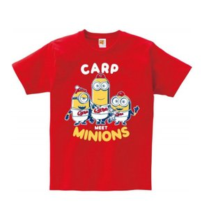 野球 ミニオンズ カープTシャツ minions-TR 広島カープ|himaraya