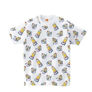 野球 ミニオンズ カープTシャツ 総柄 minions-TW 広島カープ|himaraya