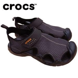 クロックス ストラップサンダル メンズ swiftwater sandal スウィフトウォーター サンダル 15041  crocs|himaraya