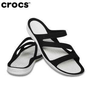 クロックス サンダル レディース Women's Swiftwater Sandal スウィフトウォーター サンダル ウィメン 203998 066 crocs  crocs|himaraya