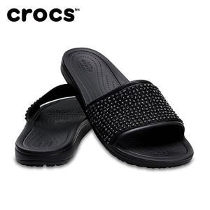 クロックス サンダル レディース Women's Crocs Sloane Embellished Slides クロックス スローン エンベリッシュド スライド ウィメン 204691  crocs himaraya
