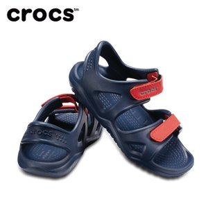 クロックス サンダル ジュニア swiftwater river sandal kids スウィフトウォーター リバー サンダル キッズ 204988  crocs|himaraya