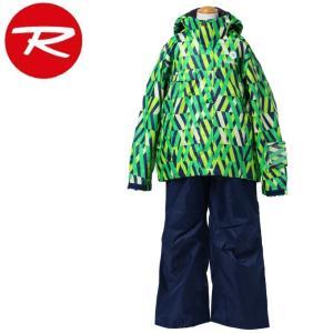 ロシニョール ROSSIGNOL スキーウェア 上下セット JUNIOR BOY SUIT ジュニア ボーイ スーツ RLFJJST02|himaraya